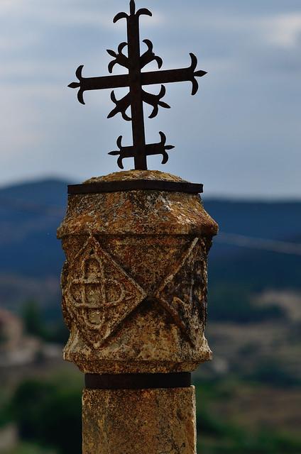 Wayside cross detail