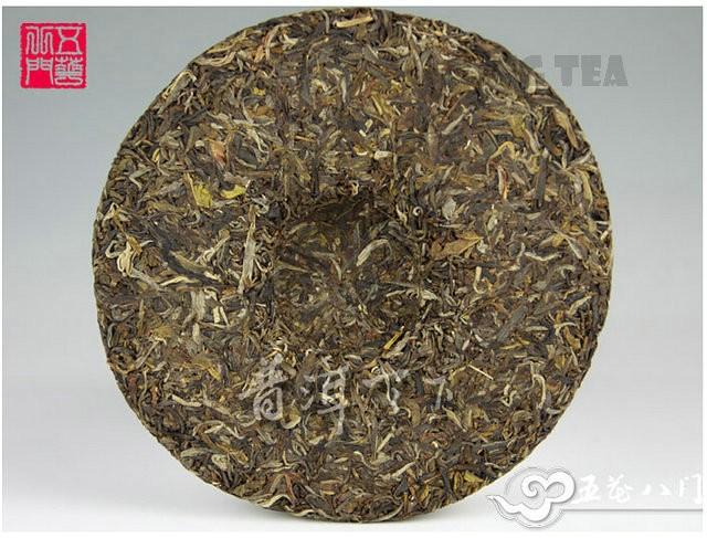 Free Shipping 2011 ChenSheng Beeng Cake Bing ChenXiangShengHua 400g YunNan MengHai Organic Pu'er Raw Tea Sheng Cha Weight Loss Slim Beauty
