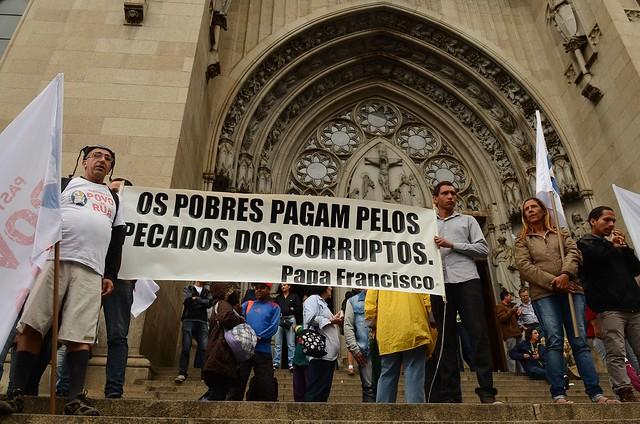 Registro de mobilização do ano passado, na Praça da Sé, em São Paulo - Créditos: Rovena Rosa/Agência Brasil