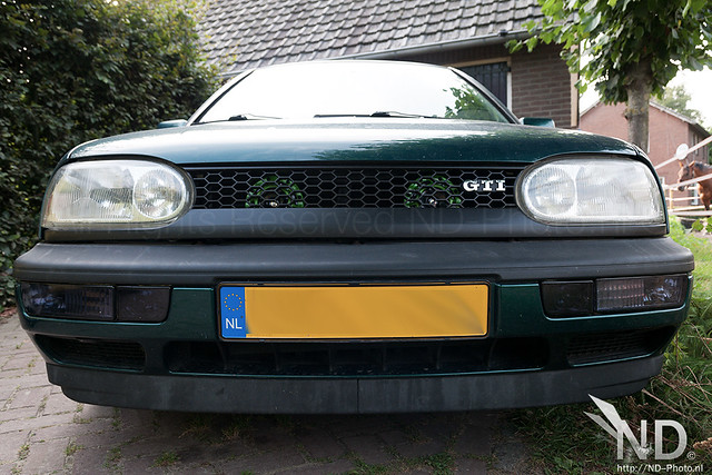 VW Golf MK3 GTI - Dual Green Hella Style Horns