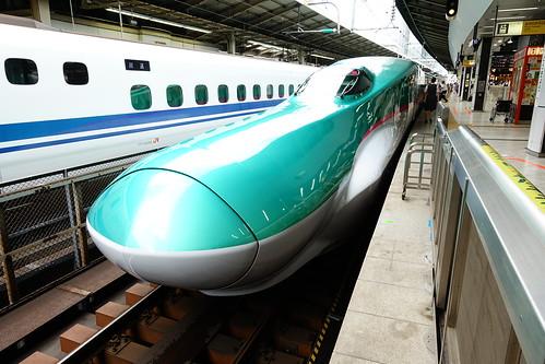 搭新幹線前往東北