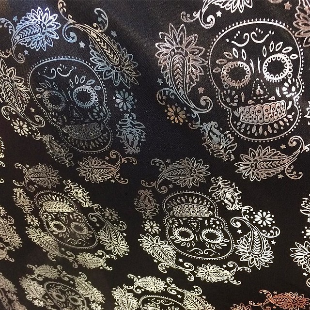 Loooove going to the fabric store this time of year 💀