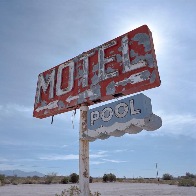motel. yucca, az. 2014.