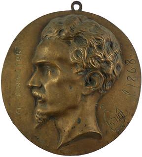 1868 Marquis Henri de Rochefort Medal