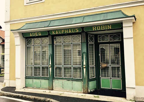 Geschlossenes Kaufhaus