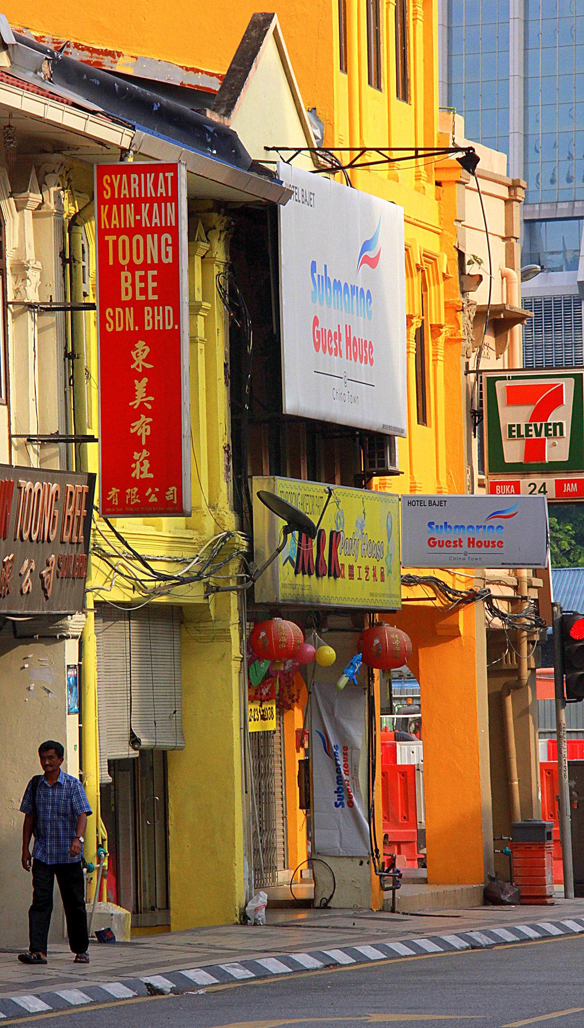 Beautiful streets of Kuala Lumpur
