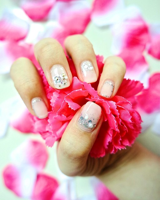 The Mayfair Nail Spa - Simple Floral Design