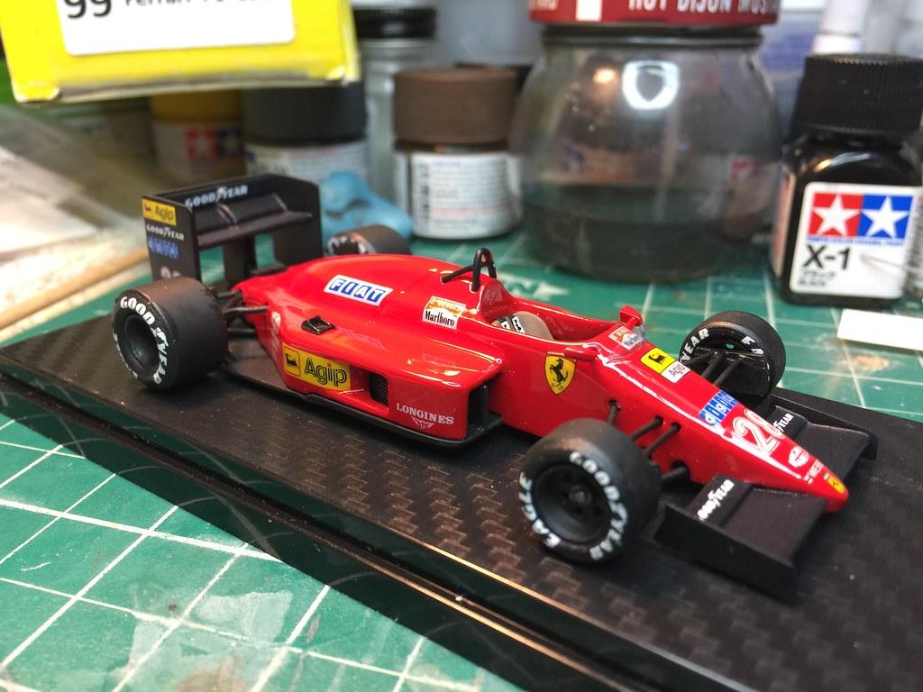 1987 Ferrari F1.87 1/43 Hi-Fi Automodelli