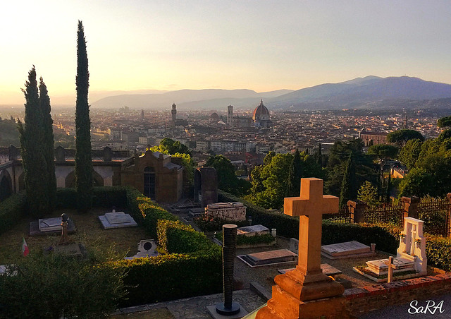 Firenze, the golden hour