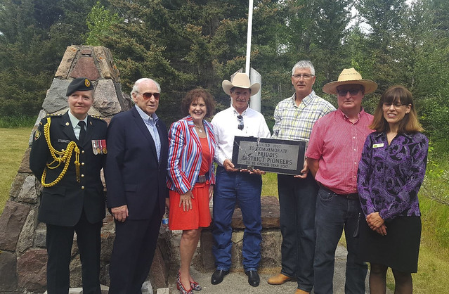 Priddis Time Capsule Opening - July 9, 2017
