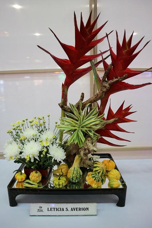 Peace and Serenity Through ikebana SM Lanang Premier Kadayawan IMG_0415