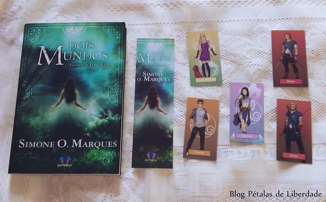 Livro Dois Mundos Simone O. Marques , Butterfly Editora, resenha,