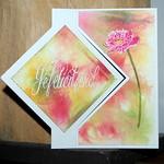 Rita K bloemenkaart