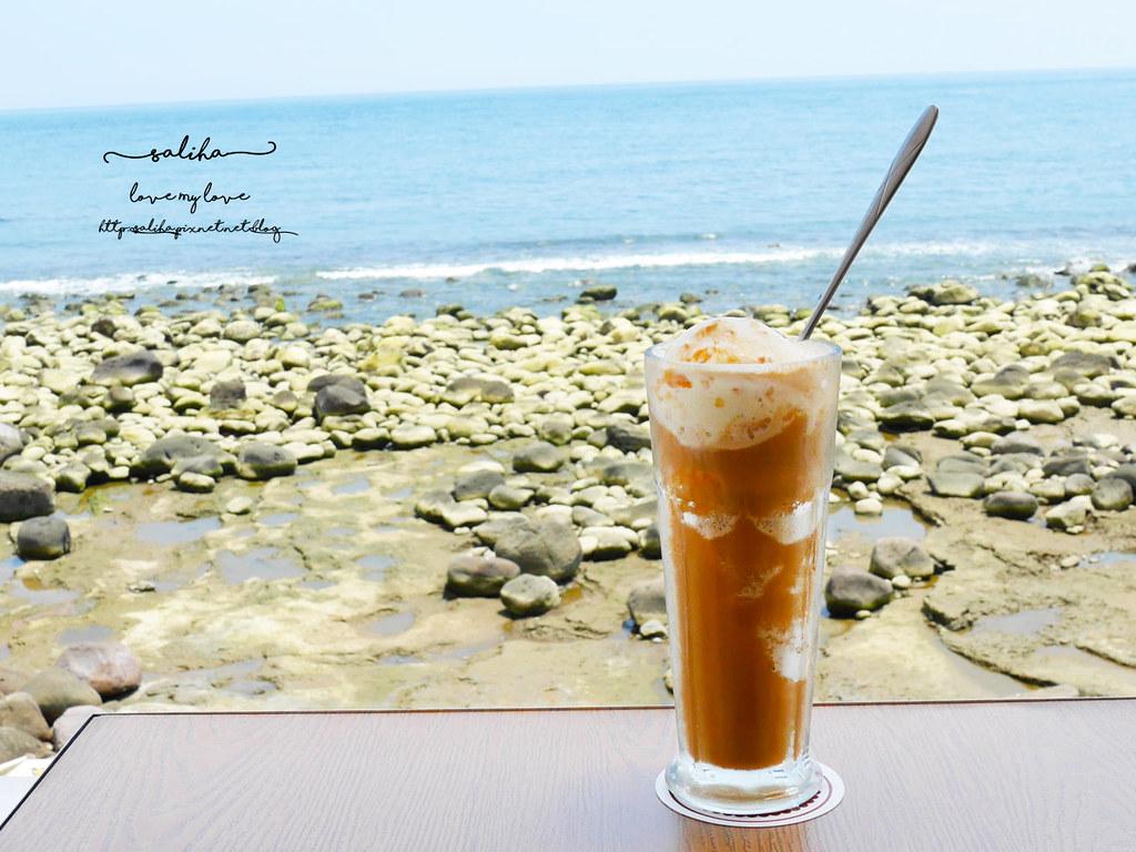 新北金山北海岸海景餐廳推薦洋荳子海邊咖啡館 (31)