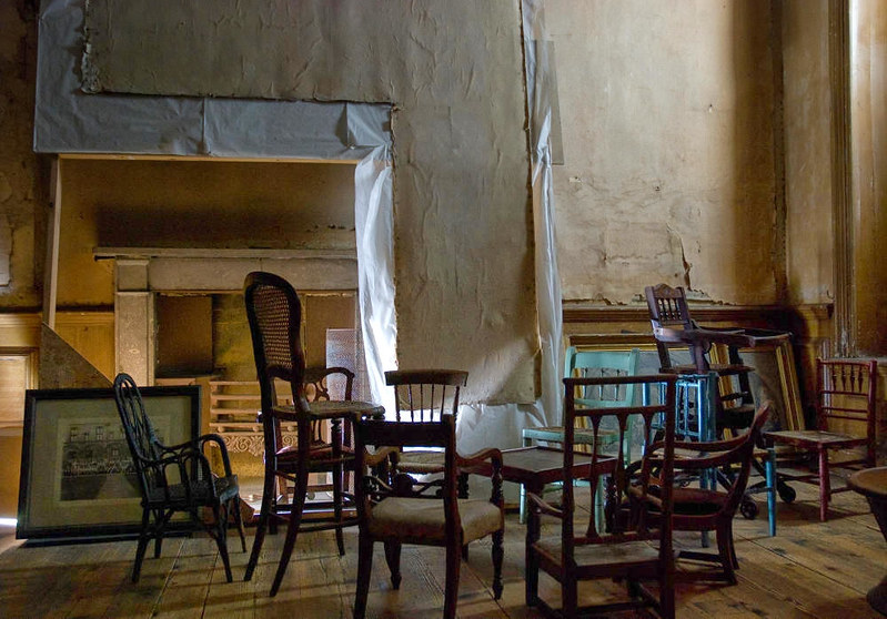 Children's chairs, Calke Abbey, Derbyshire. Credit Thomas Quine