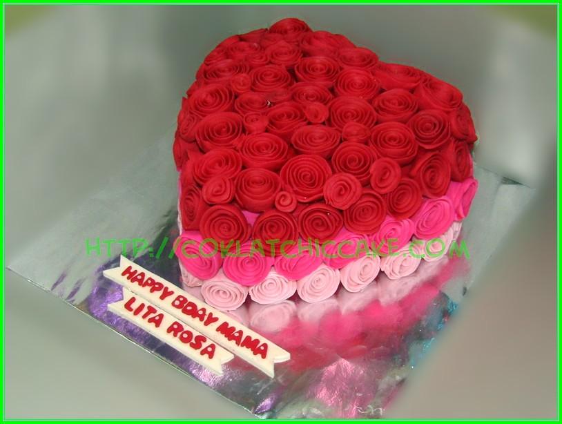 Cake Flowers Lita Rosa