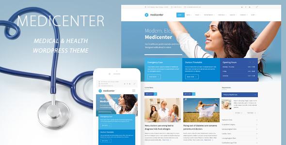 MediCenter v9.5 – Responsive Medical WordPress Theme