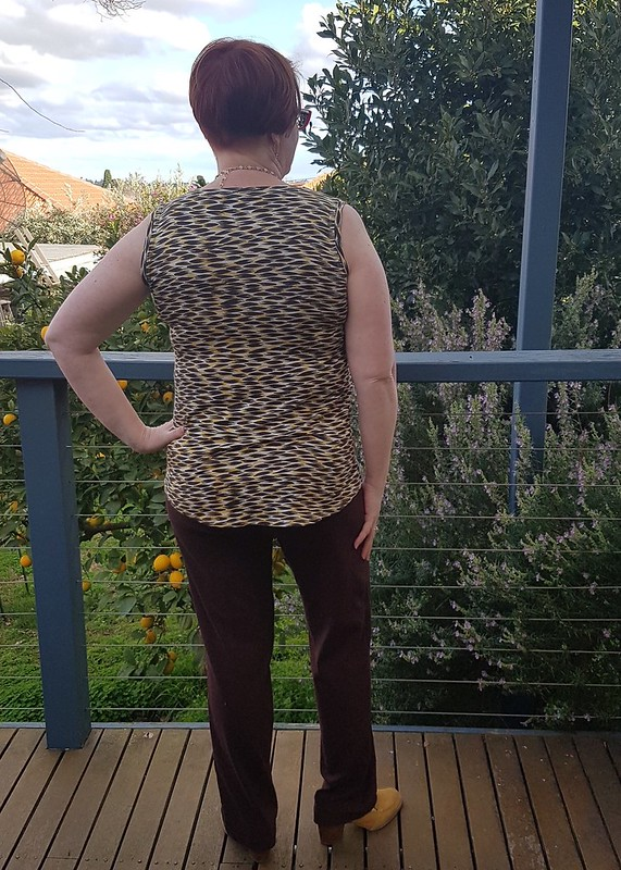 Style Arc Evie knit top in viscose knit from The Cloth Shop