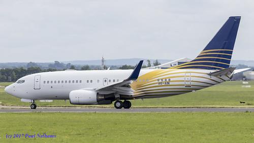 a6ain boeing 737 737700 7377z5 bbj businessjet royaljet shannonairport jet