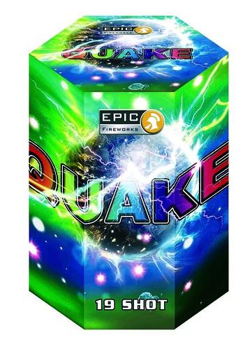 Quake 19 Shot 1.3G Barrage #EpicFireworks