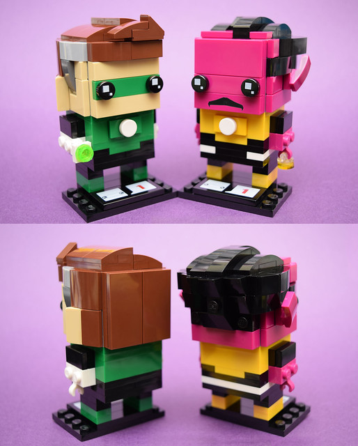 Brickset Brickheadz Entry No. 2: Hal Jordon & Thaal Sinestro