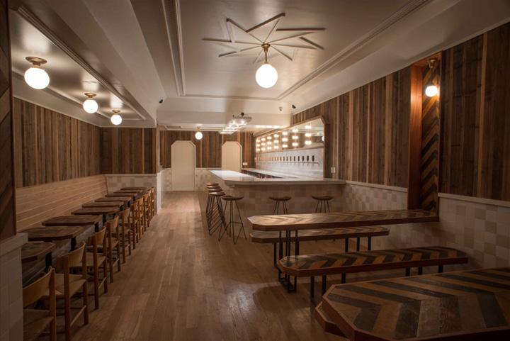 Diseño de bares: Formas geométricas y cerveza