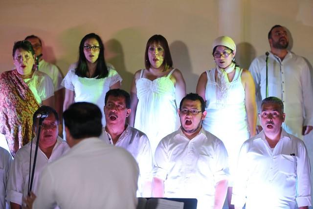 El Coro Nacional de Guatemala realiza viaje musical en el Festival del Centro Histórico