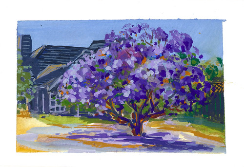 Sketchbook #105: Gouache