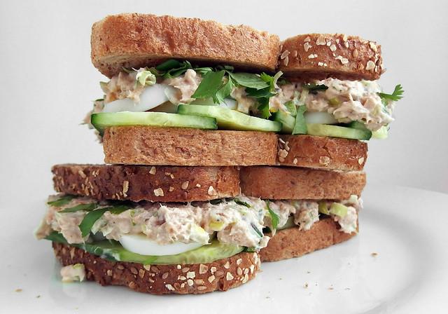 Zalm Sandwich
