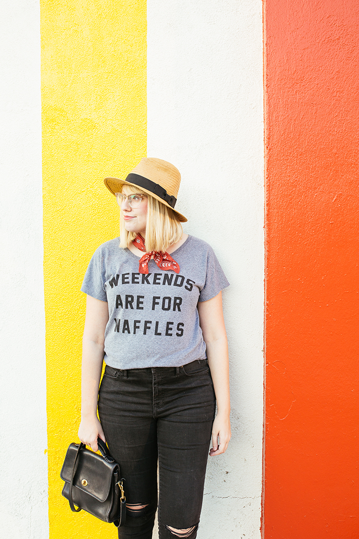 austin fashion blogger writes like a girl weekends are for waffles shirt16