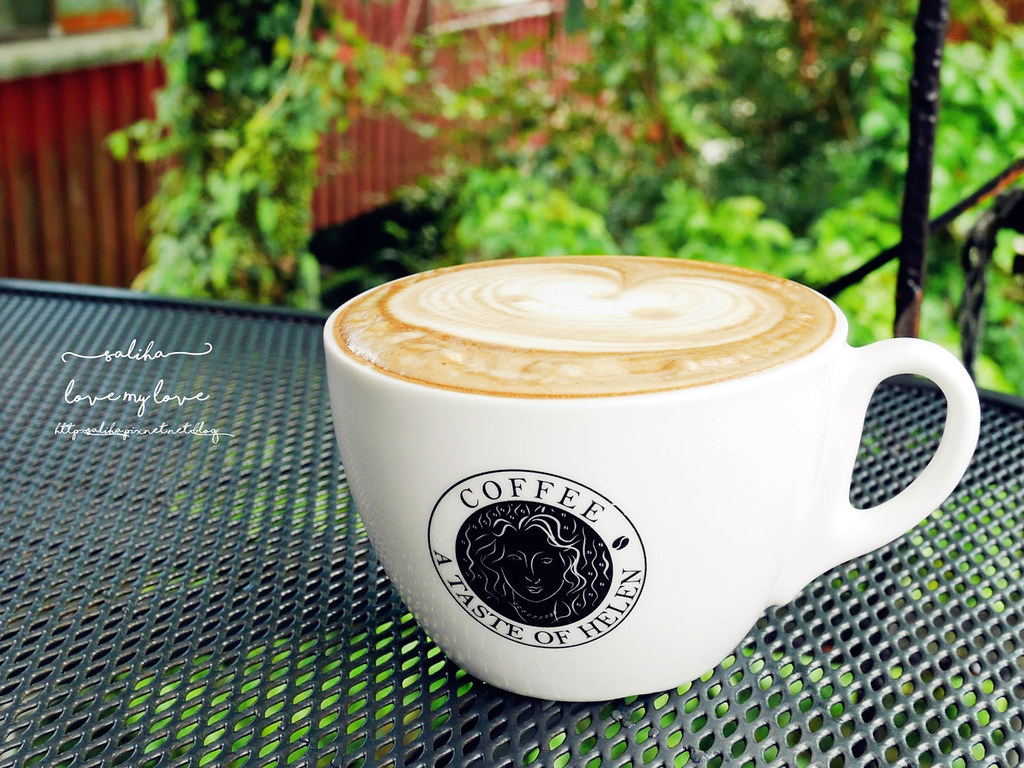 石碇千島湖一日遊行程咖啡館推薦海倫咖啡 (1)