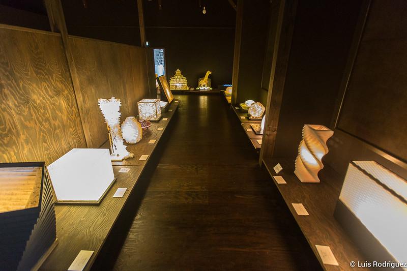 Museo de arte Mino Washi Akari