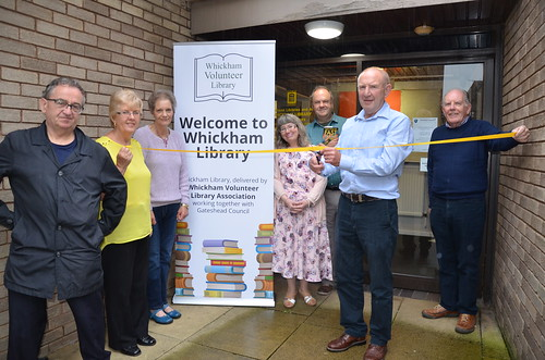 Whickham Volunteer Library July 17 1