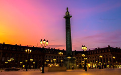 Velvet Skies - Place Vendôme Paris