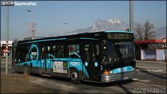 Heuliez Bus GX 317 - Sémitag (Société d'Économie MIxte des Transports publics de l'Agglomération Grenobloise) / TAG (Transports de l'Agglomération Grenobloise) n°929