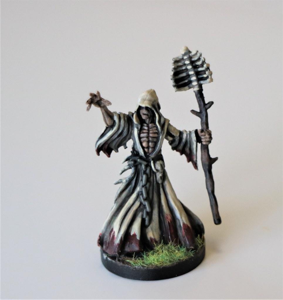 Runewars Miniatures Waiqar Wizard