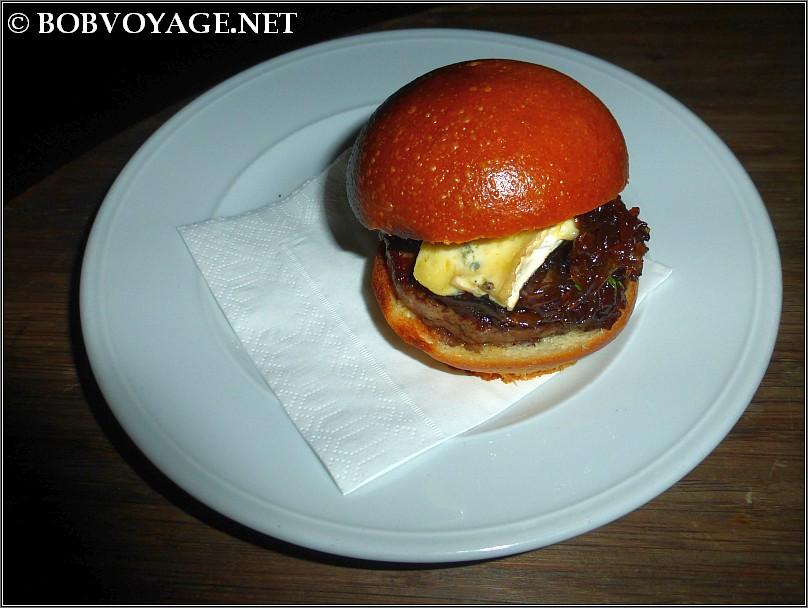 המבורגר ב- בר א וין
