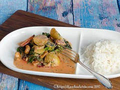 Chard and new potato curry (1)