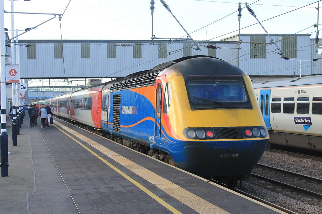Virgin East Coast Meets East Midlands Trains Meets Great N Flickr