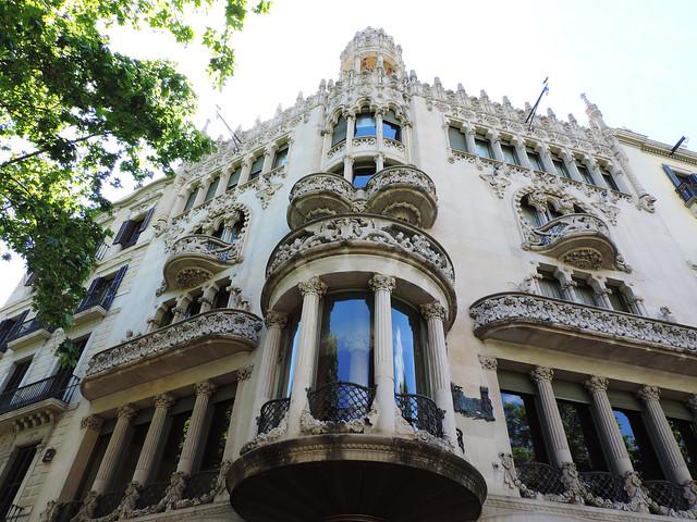 Architecture Guide To Barcelona: Casa Lleó Morera, Barcelona, Spain
