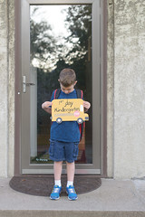 Isaac first day Kindergarten-3