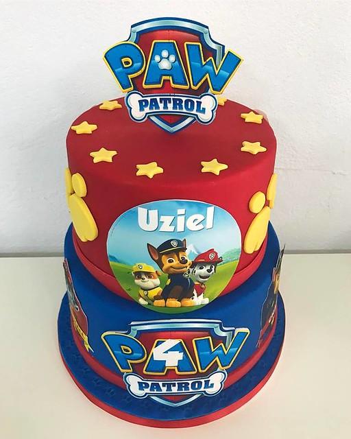 Paw Patrol Cake by La Cocinita Cupcakes
