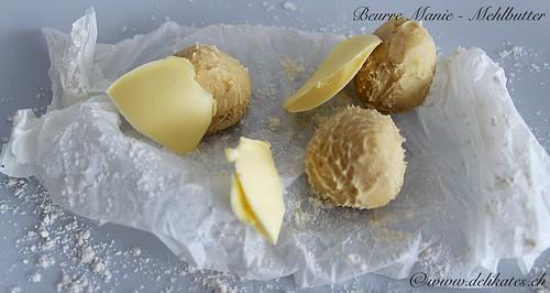 Beurre Manié - Mehlbutter