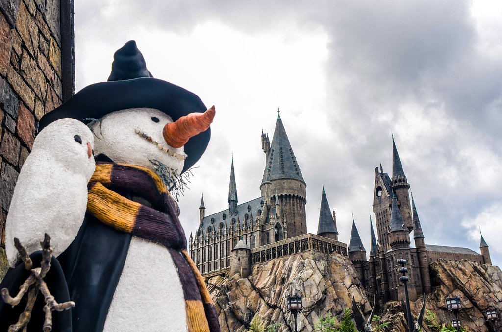 Snowman and castle IoA