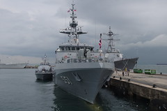 HTMS Krabi (OPV-551) Offshore Patrol Vessel Changi Singapore