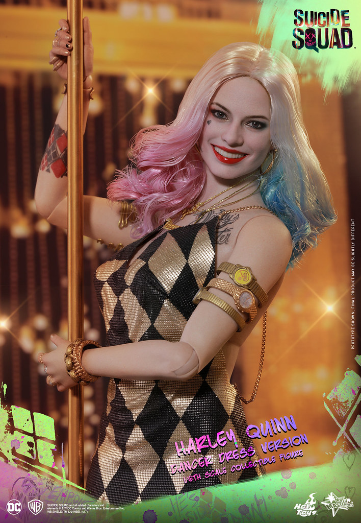 Hot Toys - MMS439 - 《自殺突擊隊》1/6比例 哈莉·奎茵(舞衣版) Suicide Squad Harley Quinn (Dancer Dress Version)