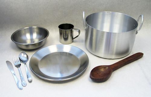 USAID kitchen set items