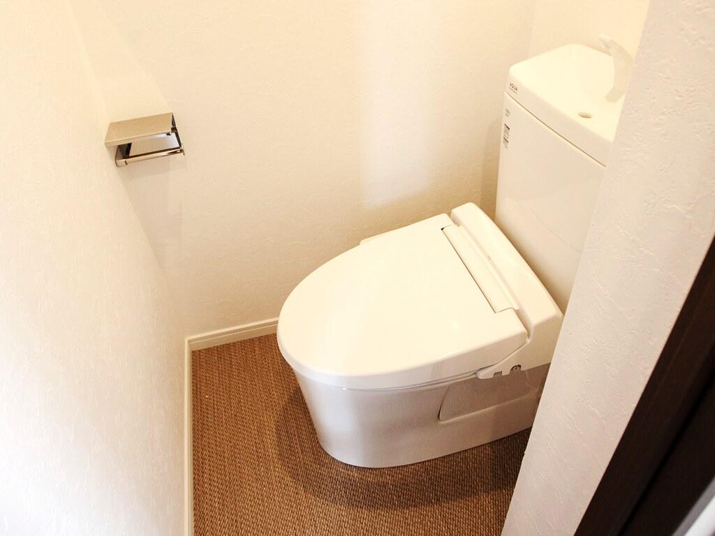 リノベーション後・トイレ