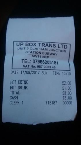 receipt Sept 17