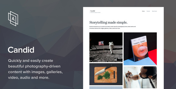 Candid v1.6.4 – WordPress Photography Theme